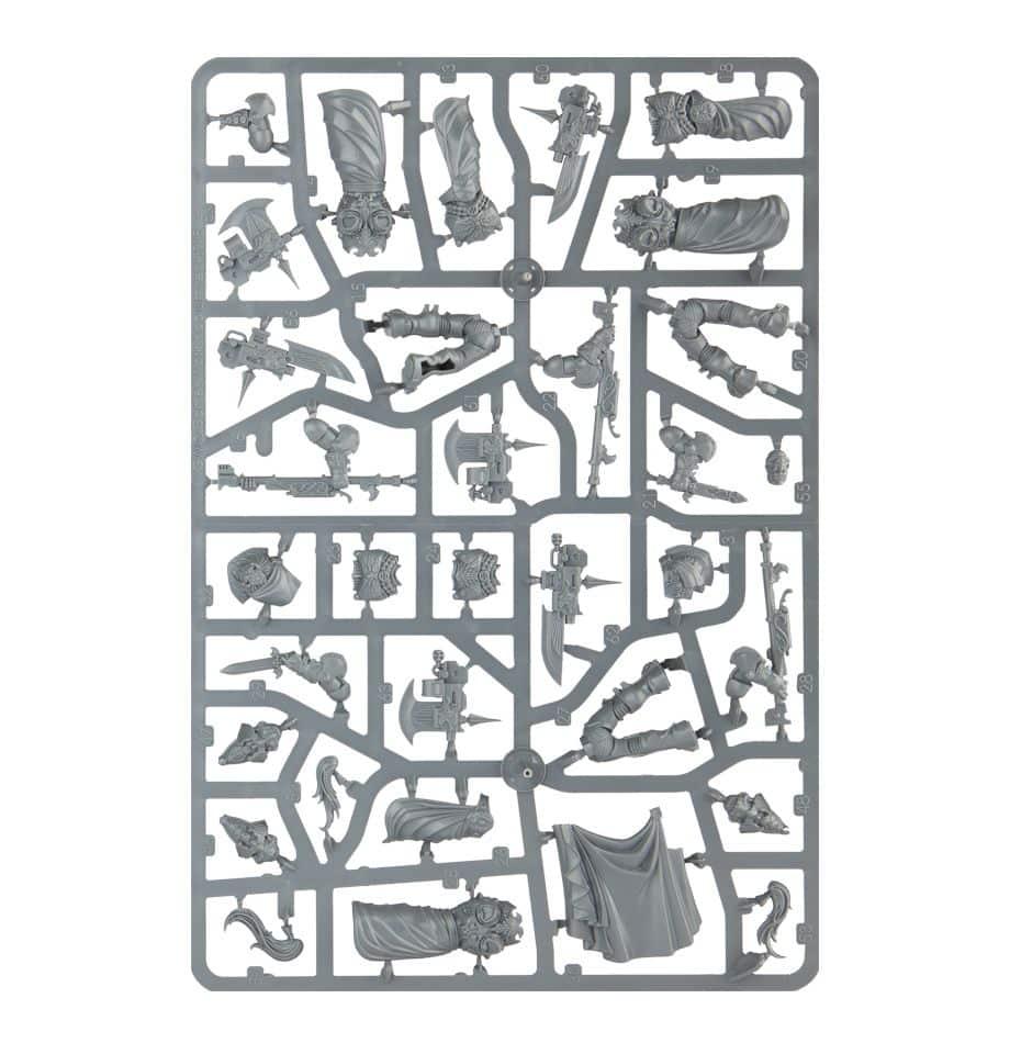 Warhammer 40k Adeptus Custodes Custodian Wardens 01-11