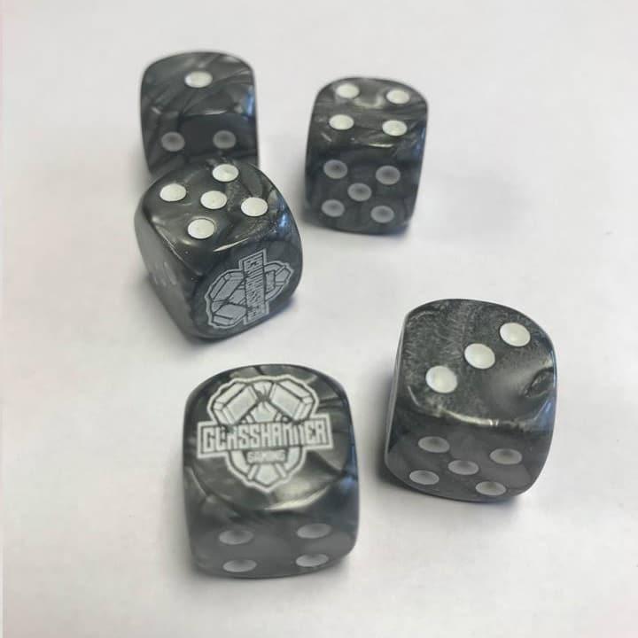 Glasshammer Gaming Dice - Grey Image