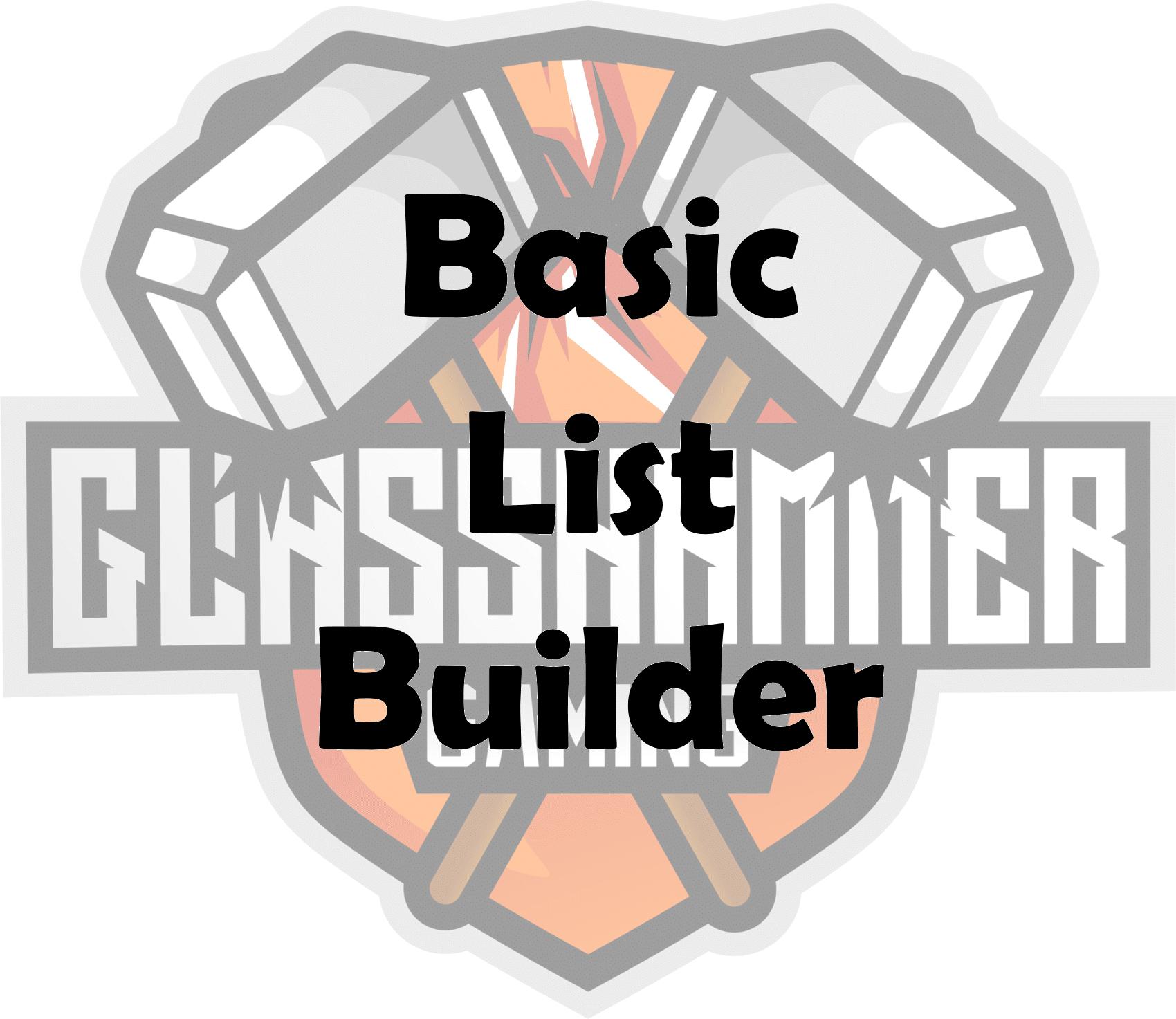 Basic List Builder Image