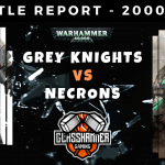 Warhammer 40,000 Competitive Battle Report - Grey Knights Vs Necrons