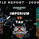 Warhammer 40,000 Competitive Battle Report - Tau Vs Imperium - ITC & ETC Missions - Lists