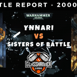 Warhammer 40,000 Competitive Battle Report - Sisters of Battle Vs Ynnari