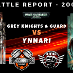 Warhammer 40,000 Competitive ITC Battle Report - Grey Knights & Guard vs Ynnari