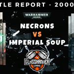 Warhammer 40,000 Competitive Battle Report - Necrons vs Imperial Soup