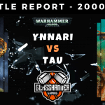 Warhammer 40,000 Competitive Battle Report - Ynnari vs Tau