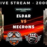 Warhammer 40,000 Competitive ITC Live Stream - Eldar vs Necrons