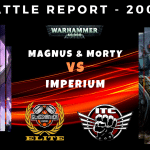 Magnus and Morty vs Guard, Dark Talons and a Knight - Warhammer 40k Competitive ITC Battle Report