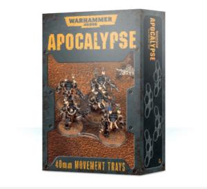 Apocalypse Movement Trays - 40mm Image