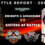 Knights & Assassins vs Sisters of Battle - Warhammer 40k Competitive ITC Battle Report