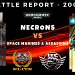 Space Marines & Assassins vs Necrons - Warhammer 40,000 Competitive ITC Battle Report
