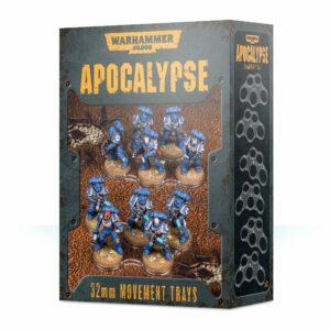 Apocalypse Movement Trays - 32mm Image