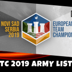 ETC 2019 Army Lists