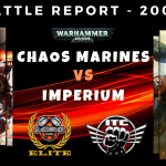 Competitive ITC Battle Report – Chaos Marines vs Imperium – Warhammer 40k
