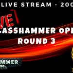 ELITE Live Stream - Glasshammer Open - Round 3