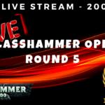 ELITE Live Stream - Glasshammer Open - Round 5