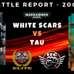 Competitive ITC Battle Report – White Scars vs Tau– Warhammer 40k