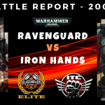 Competitive ITC Battle Report – Ravenguard vs Iron Hands – Warhammer 40k