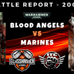 Competitive ITC Battle Report – Blood Angels vs Marines – Warhammer 40k