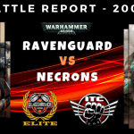 Competitive ITC Battle Report – Ravenguard vs Necrons – Warhammer 40k