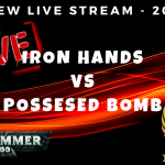 Iron Hands vs Possessed - Freeview Live Stream - Warhammer 40k - 2000pts