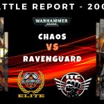 Competitive ITC Battle Report – Chaos vs Ravenguard – Warhammer 40k