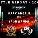 Competitive ITC Battle Report – Dark Angels vs Iron Hands – Warhammer 40k