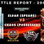 Competitive ITC Battle Report – Chaos vs Eldar – Warhammer 40k