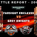 Competitive ITC Live Stream – Farsight Enclaves vs Grey Knights – Warhammer 40k