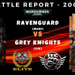 Competitive ITC Battle Report – Ravenguard vs Grey Knights – Warhammer 40k