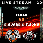 Competitive ITC Live Stream – Eldar vs Death Guard & Thousand Sons (with Mortarion) – Warhammer 40k