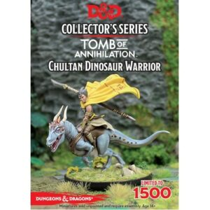 Chultan Dinosaur Warrior Image