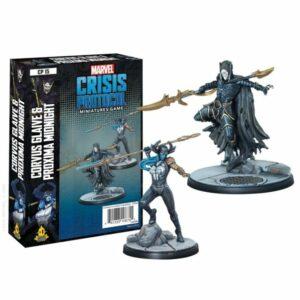 Marvel Crisis Protocol: Corvus Glaive and Proxima Midnight Image