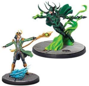 Marvel Crisis Protocol: Loki and Hela Image