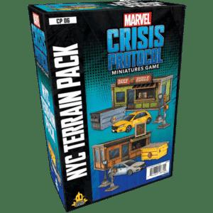 Marvel Crisis Protocol: NYC Terrain Expansion Image