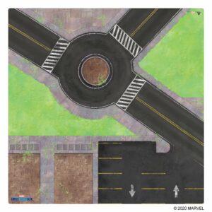 Marvel Crisis Protocol Roundabout Knockout Game Mat Image