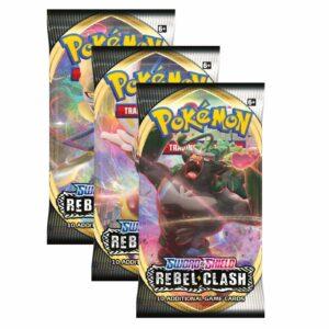 Pokemon TCG Sword & Shield 2 Rebel Clash Boosters Image