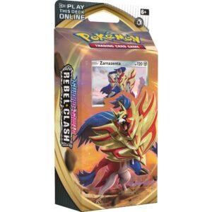 Pokemon TCG Sword & Shield 2 Rebel Clash Theme Deck - Zamazenta Image