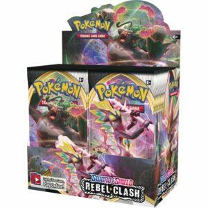 Pokemon TCG Sword & Shield 2 Rebel Clash Booster Box Image
