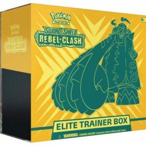 Pokemon TCG Sword & Shield 2 Rebel Clash Elite Trainer Box Image