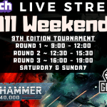 Let's Learn 9th Tournament Stream #8 – Live from The Glasshouse – Warhammer 40k