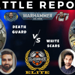 Competitive 9th Ed Battle Report – Death Guard vs White Scars – Tactical Talkover – Warhammer 40k
