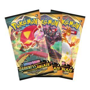 Pokemon TCG Sword & Shield Darkness Ablaze Boosters Image