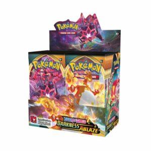 Pokemon TCG Sword & Shield Darkness Ablaze Booster Box Image