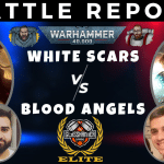 Competitive 9th Ed Battle Report – White Scars vs Blood Angels & Guard – Tactical Talkover – Warhammer 40k