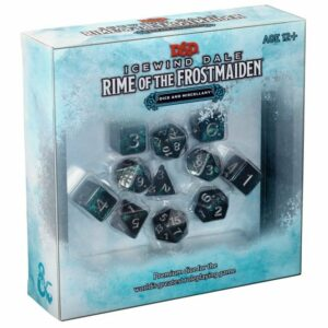 Dungeons & Dragons Icewind Dale Rime of the Frostmaiden Dice Set Image