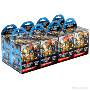 Icons Of The Realms Mythic Odysseys Of Theros Booster Brick (8 Boosters) Image