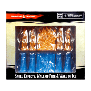 Icons Of The Realms: Spell Effects - Wall Of Fire & Wall Of Ice Image