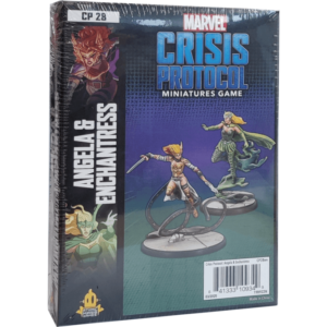 Marvel Crisis Protocol Angela and Enchantress Image