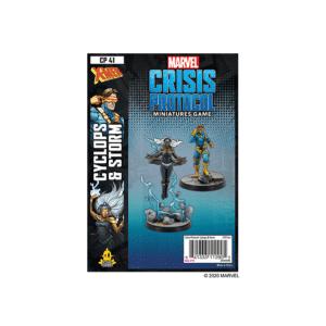Marvel Crisis Protocol Cyclops & Storm Image