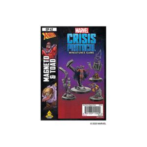 Marvel Crisis Protocol Magneto & Toad Image